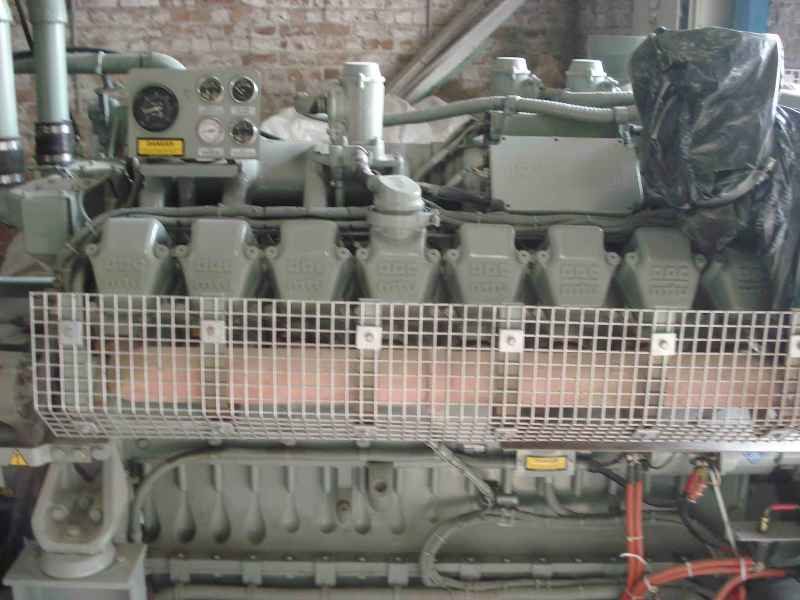 1000 kVA Detroit Used Diesel Generator for Sale in Lahore, Pakistan -